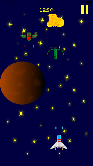 Space Sticker Shooter Screenshot